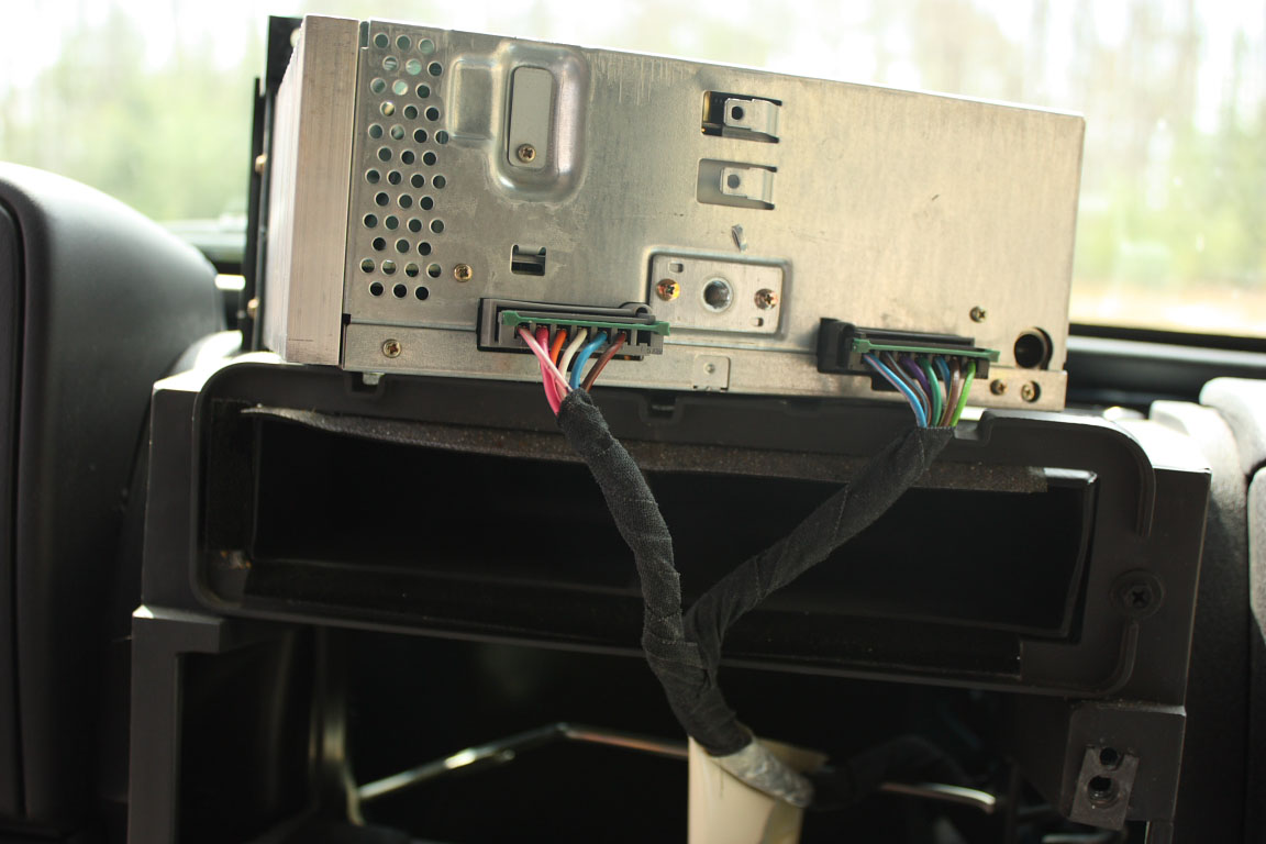 Upgrading A 2001 Jeep Wrangler Stereo Rear Subwoofer Wiring