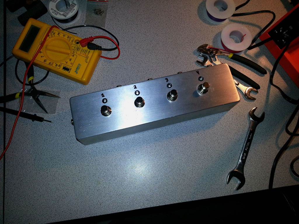 Admirable Diy Guitar Fx 4 Channel Audio Looper Shanekirk Com Wiring Cloud Toolfoxcilixyz